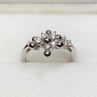 ポーラ(POLA)の☆セール POLA K18WG ダイヤ ファッションリング(リング(指輪))