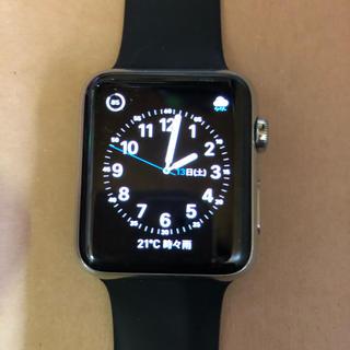 アップルウォッチ(Apple Watch)のアップルウォッチ初代 ステンレス 42mm (腕時計(デジタル))