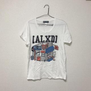 ラッドミュージシャン(LAD MUSICIAN)の[Alexandros ] ドロス シャンペイン レコードショップ Tシャツ(ミュージシャン)