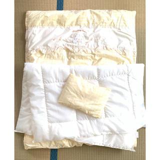 ニシマツヤ(西松屋)の赤ちゃん用 掛布団 枕 4点セット 出産準備(布団)