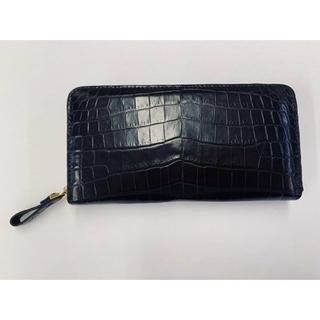 【新品未使用】最高級クロコダイル 長財布 メンズ(長財布)