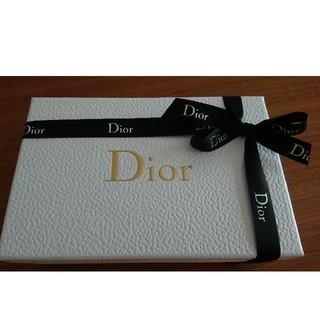 クリスチャンディオール(Christian Dior)のChristian Dior ディオール ギフトボックス リボン付(ラッピング/包装)