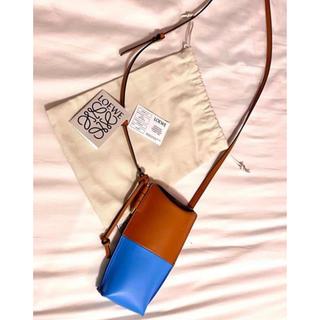 ロエベ(LOEWE)の美品 Loewe ロエベ ミニ ゲートショルダーバッグ 保護袋カード付き(ショルダーバッグ)