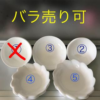 ヤマザキセイパン(山崎製パン)の山崎パン 白いお皿  セット売り(食器)