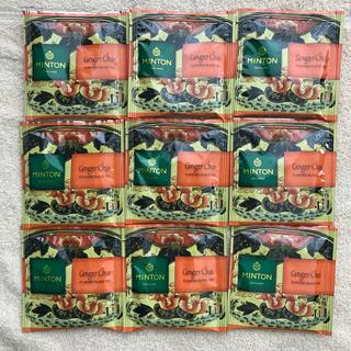 ミントン(MINTON)のミントン 和紅茶 生姜チャイ 9パック(茶)