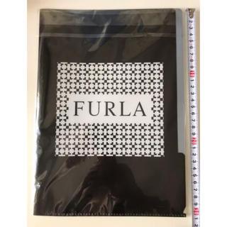 フルラ(Furla)の【未使用・非売品】FURLA フルラ A4サイズ クリアファイル 二個入(クリアファイル)