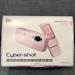 ソニー(SONY)のCyber-shotケータイ W61S(携帯電話本体)