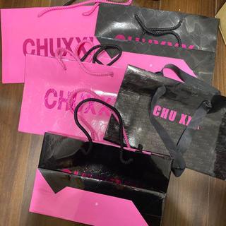 チュー(CHU XXX)のCHUXXX  5枚セット売り(ショップ袋)