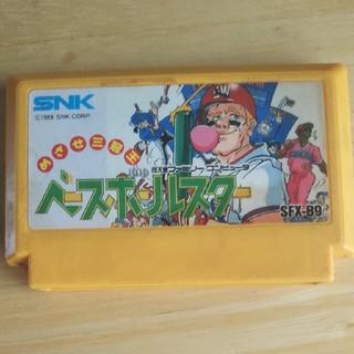 エスエヌケイ(SNK)のベースボールスター ファミコン(家庭用ゲームソフト)