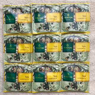 ミントン(MINTON)のミントン 和紅茶ティーバッグ 柚子 9パック(茶)