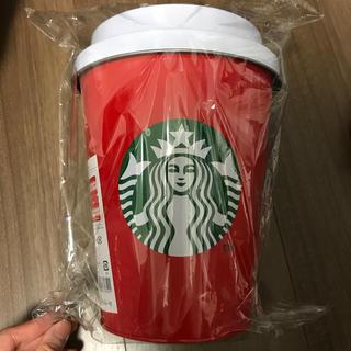 スターバックスコーヒー(Starbucks Coffee)のホリデー2019ビッグレッドカップ&ブランケット(日用品/生活雑貨)