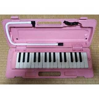 ヤマハ(ヤマハ)のヤマハ 鍵盤ハーモニカ ピアニカP-32DP ピンク(ハーモニカ/ブルースハープ)