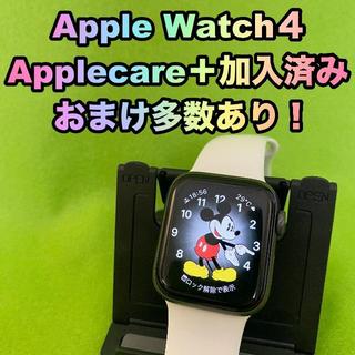 アップルウォッチ(Apple Watch)のApple Watch series4 40ミリ GPS +セルラーモデル(スマートフォン本体)