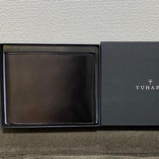 ガンゾ(GANZO)のyuhaku コードバン 二つ折り財布(折り財布)