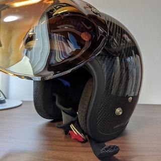 リード工業 カーボンジェットヘルメット LEAD(ヘルメット/シールド)