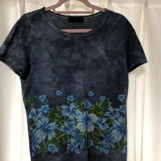 エーティー(A/T)のA/T 半袖Tシャツ 花柄(Tシャツ(半袖/袖なし))
