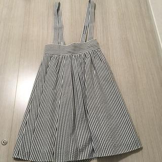 イエナスローブ(IENA SLOBE)のイエナスローブ  ストライプ ジャンパースカート(ひざ丈スカート)