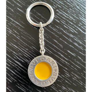 ブルガリ(BVLGARI)のブルガリ  キーホルダー 黄色(キーホルダー)