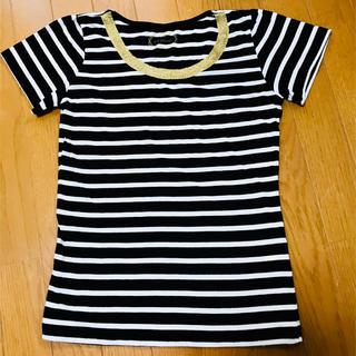 イッツデモ(ITS'DEMO)のITS'DEMO ボーダーTシャツ(Tシャツ/カットソー(半袖/袖なし))