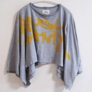 ヴィヴィアンウエストウッド(Vivienne Westwood)のヴィヴィアン ウエストウッド  アングロマニア  ショート ビッグTシャツ(Tシャツ(長袖/七分))