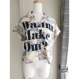 ラグナムーン(LagunaMoon)のLaguna moon Wanna Make Out ハワイアンシャツ 3/4(Tシャツ(半袖/袖なし))