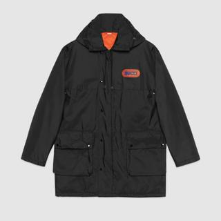グッチ(Gucci)のNylon jacket with Gucci patch(ナイロンジャケット)