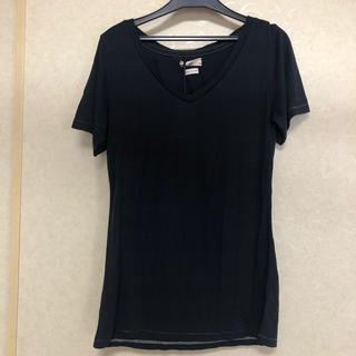 シー(SEA)のSEA rie Tシャツ 新品 ネイビー(Tシャツ(半袖/袖なし))