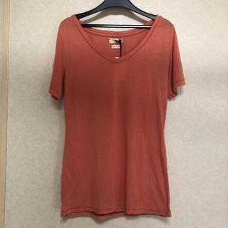 シー(SEA)のSEA rie Tシャツ 新品 オレンジ(Tシャツ(半袖/袖なし))