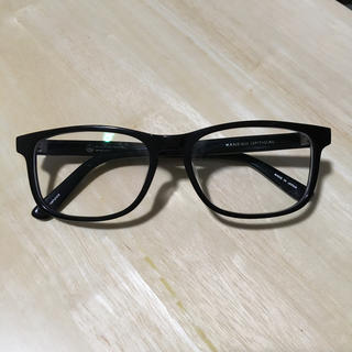 ビューティアンドユースユナイテッドアローズ(BEAUTY&YOUTH UNITED ARROWS)のセルフレーム 金子眼鏡/united arrows ダブルネーム 黒(サングラス/メガネ)