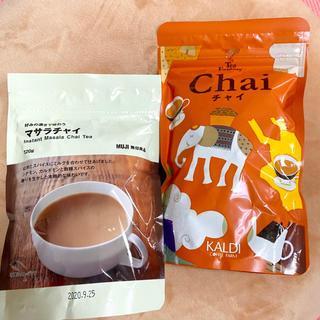 ムジルシリョウヒン(MUJI (無印良品))のsayoko's様 無印良品マサラチャイ/KALDIチャイのセット(茶)