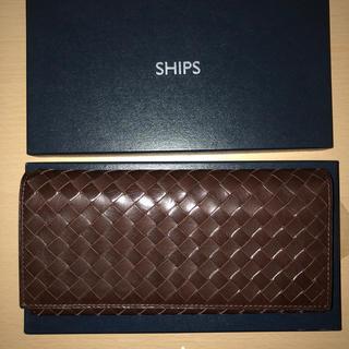 シップス(SHIPS)のカルボナーラさま専用 新品同様SHIPS ウォレット レザー ボッテガ好きに(長財布)