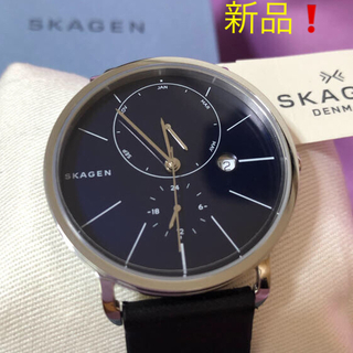 スカーゲン(SKAGEN)の【新品、タグ付】SKAGEN スカーゲン腕時計 ユニセックス 値下げしました❗️(腕時計(アナログ))