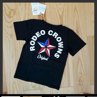 ロデオクラウンズワイドボウル(RODEO CROWNS WIDE BOWL)の新品タグ付き★ロデオクラウンズ★キッズTシャツ(Tシャツ/カットソー)