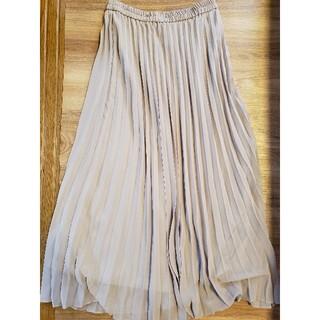 ユニクロ(UNIQLO)のUNIQLO ユニクロ シフォン プリーツ スカート Sサイズ(ロングスカート)
