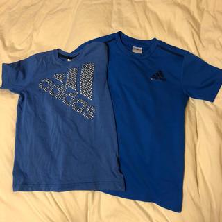 アディダス(adidas)の専用 アディダス Tシャツ、プラクティスシャツ2枚140cm(Tシャツ/カットソー)