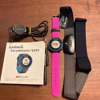 ガーミン(GARMIN)のGARMIN ForeAthlete 620J(トレーニング用品)