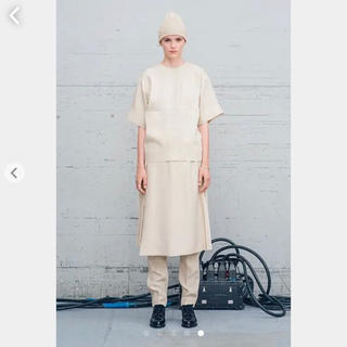ハイク(HYKE)の美品HYKE 巻きスカート プリーツスカート(ひざ丈スカート)