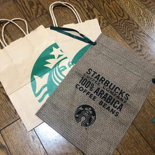 スターバックスコーヒー(Starbucks Coffee)のスターバックス ショッパー【韓国限定】(ショップ袋)