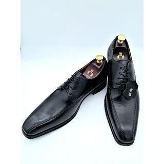 マドラス(madras)のマドラス ビジネスシューズ DM1510A 黒 25.0cm スワールトゥ(ドレス/ビジネス)