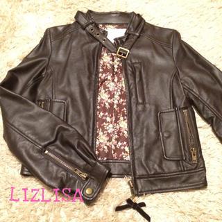 リズリサ(LIZ LISA)のLIZLISA レザージャケット(ライダースジャケット)