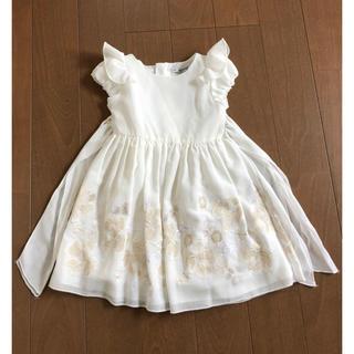 トッカ(TOCCA)のシフォン ワンピース ドレス フォーマル タルティーヌエショコラ 組曲 サエグサ(ドレス/フォーマル)