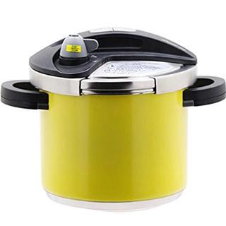 ワンダーシェフ(ワンダーシェフ)の両手圧力鍋 5.0L イエロースノー(鍋/フライパン)