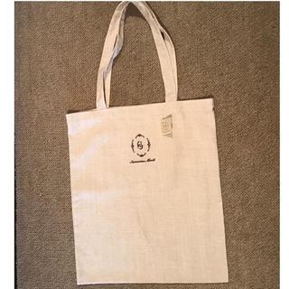 サマンサモスモス(SM2)のサマンサモスモス 綿麻ロゴ刺繍トートバッグ  大(トートバッグ)