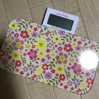 ベルメゾン(ベルメゾン)の体重計 minilabo ベルメゾン bellemaison(日用品/生活雑貨)