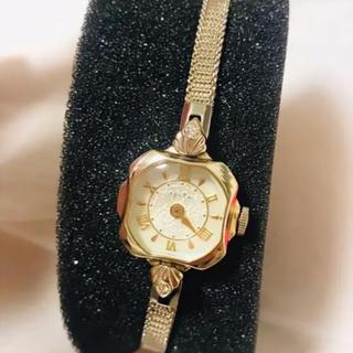 アガット(agete)のアガット10k腕時計 クリスマス限定(腕時計)