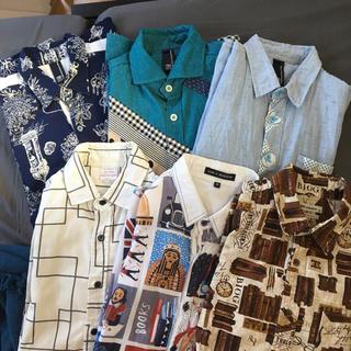 【6点】メンズ ビンテージシャツ まとめ売り 下北沢 古着好きに 定価10万相当(その他)