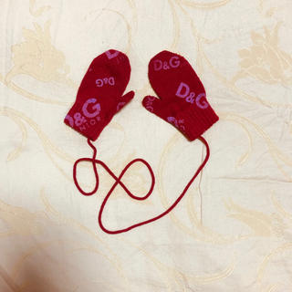 ドルチェアンドガッバーナ(DOLCE&GABBANA)のD&G ジュニア ベビー キッズ ミトン 男女兼用 手袋 (手袋)