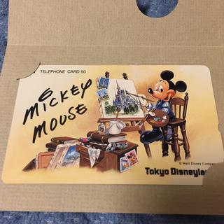 ディズニー(Disney)のディズニーランド テレホンカード その2(キャラクターグッズ)
