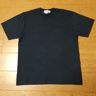 ジムフレックス(GYMPHLEX)の【新品未使用】ジムフレックス 半袖Tシャツ ネイビー Lサイズ(Tシャツ/カットソー(半袖/袖なし))
