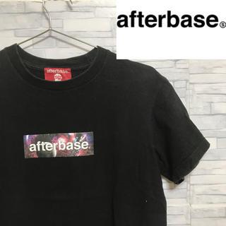 アフターベース(AFTERBASE)の【芸能人多数着用】afterbase アフターベース Tシャツ ボックスロゴ(Tシャツ/カットソー(半袖/袖なし))